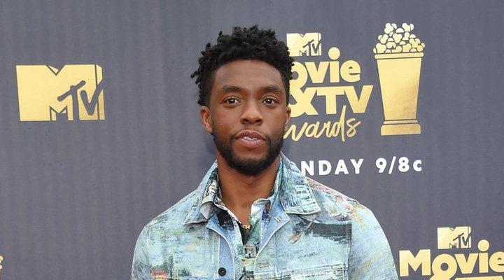 Chadwick Boseman en los MTV Movie & TV Awards 2018