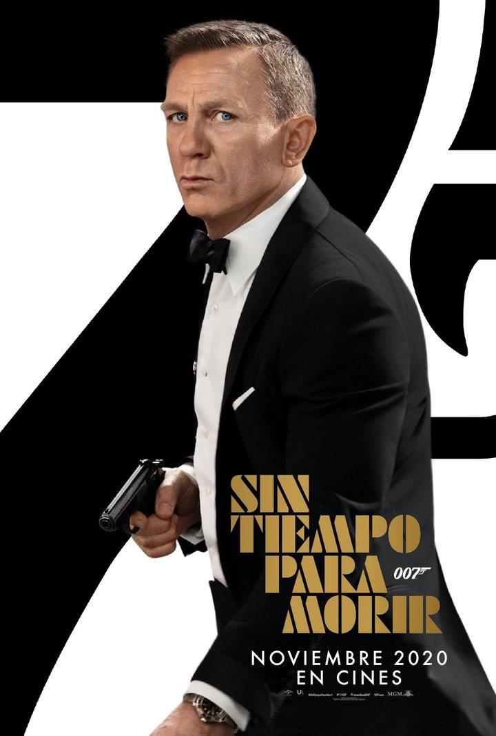 Póster 'Sin tiempo para morir' con Daniel Craig