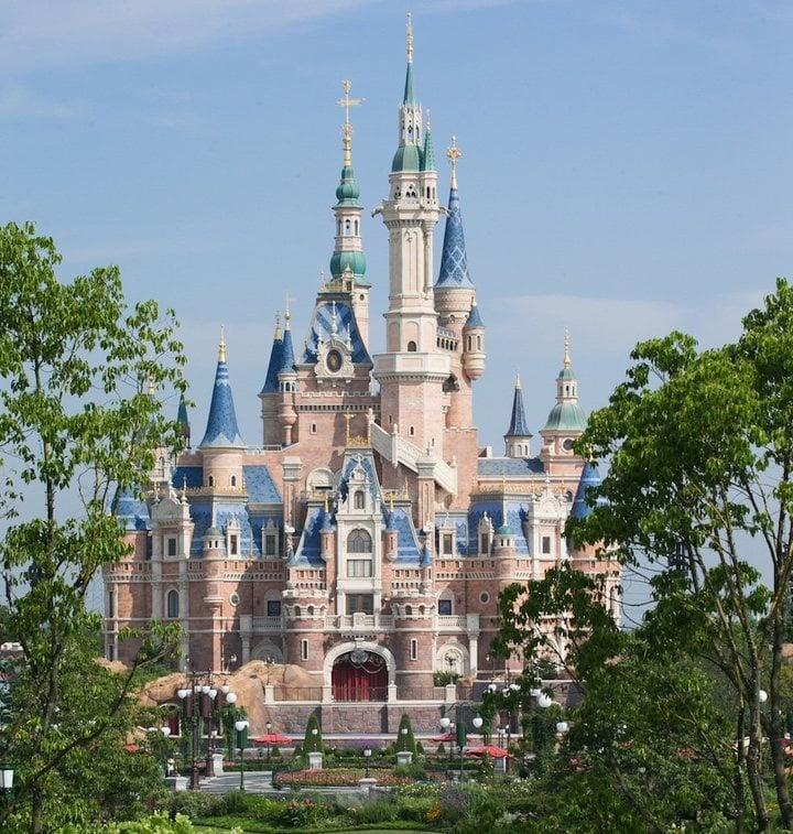 Castillo de Disneyland Shanghai