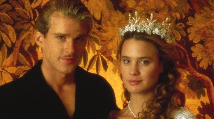 Cary Elwes y Robin Wright en 'La princesa prometida'