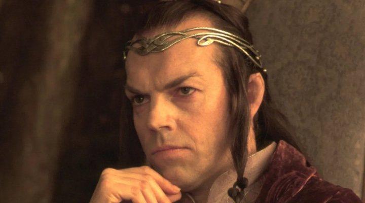 Hugo Weaving en 'El Señor de los Anillos'