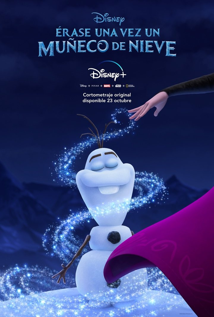 Érase una vez un muñeco de nieve, el corto inédito de 'Frozen' para Disney+