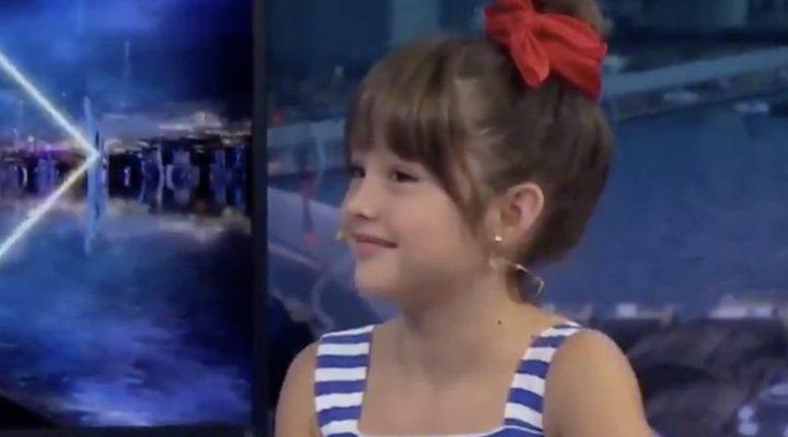Luna Fulgencio en 'El Hormiguero'