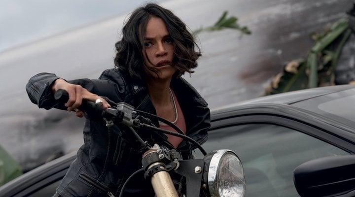 Michelle Rodriguez en 'Fast & Furious 9' (2021)