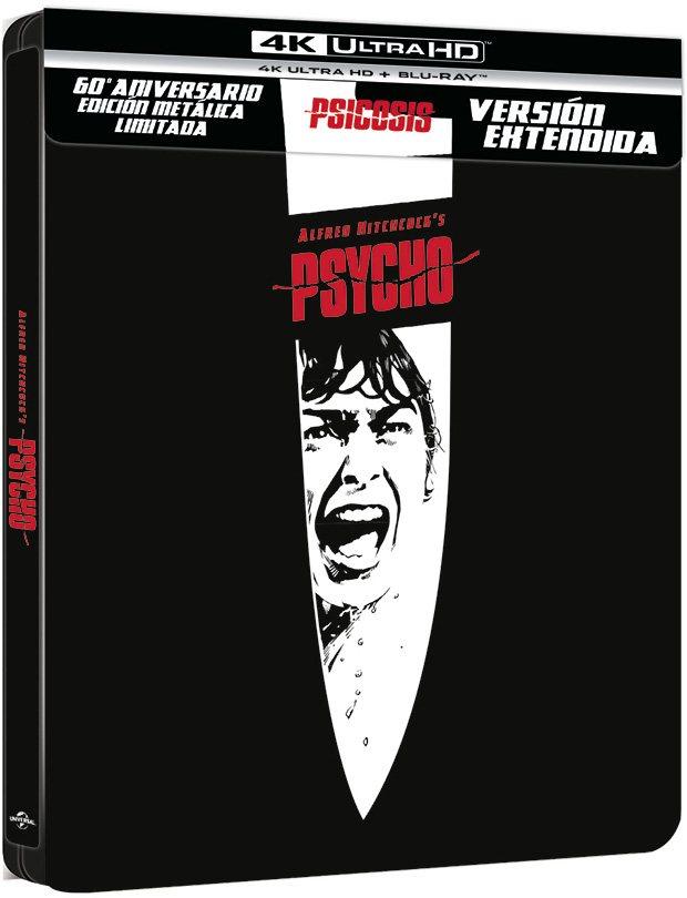 Edición caja metálica 60 aniversario 'Psicosis'