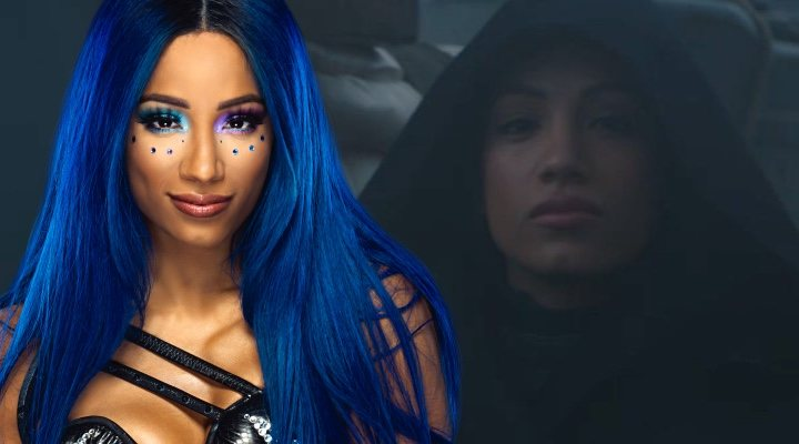 Sasha Banks en 'The Mandalorian'