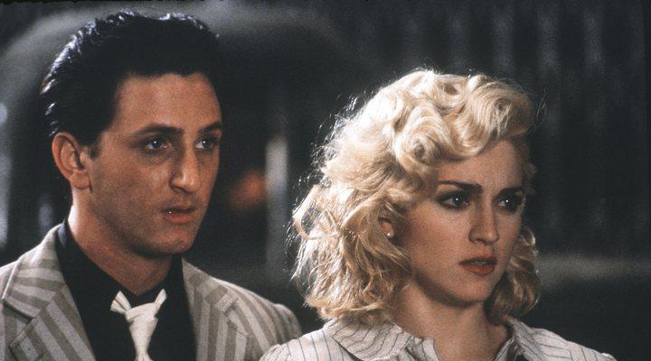 Madonna y Sean Penn en 'Shanghai Surprise'