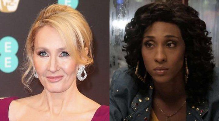J.K. Rowling y MJ Rodriguez