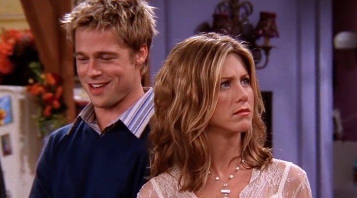 Jennifer Aniston y Brad Pitt en la lectura de 'Aquel excitante curso'