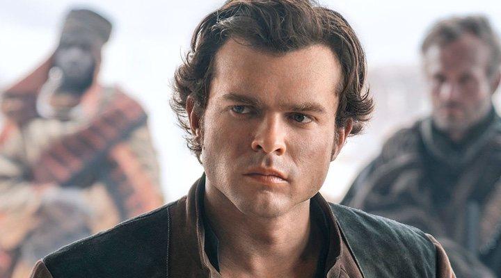 Alden Ehrenreich en 'Han Solo: Una historia de Star Wars' (2018)