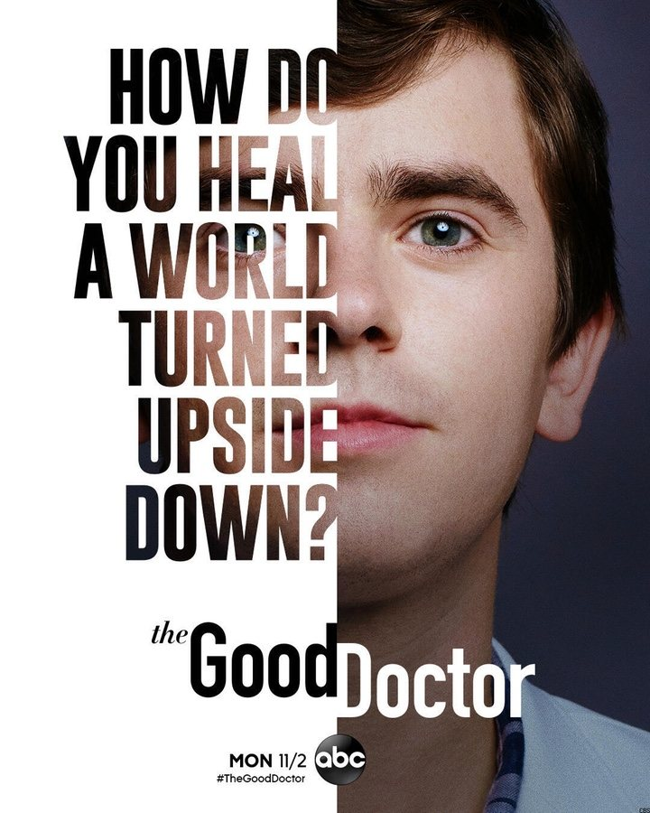Póster temporada 4 'The Good Doctor'