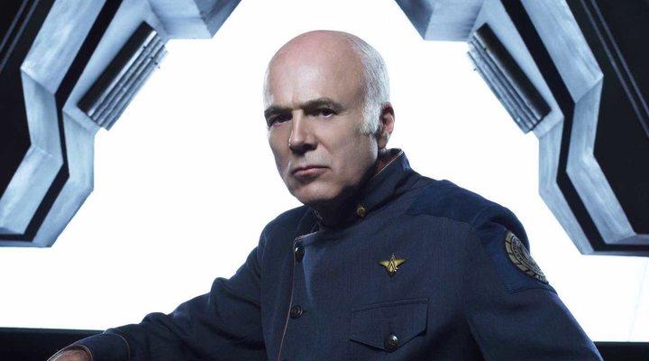 Michael Hogan en 'Battlestar Galactica'