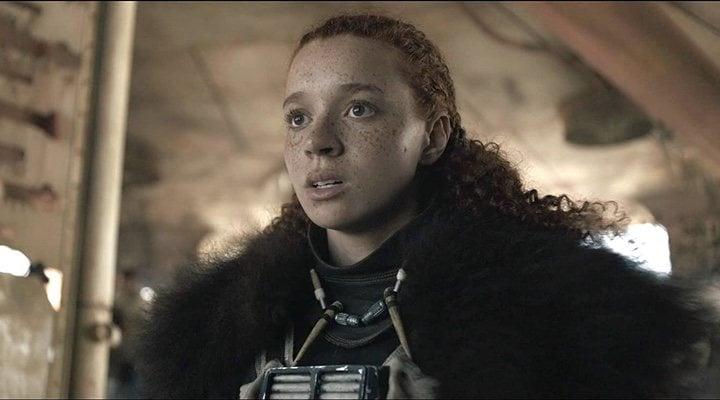 Erin Kellyman en 'Han Solo: Una historia de Star Wars'