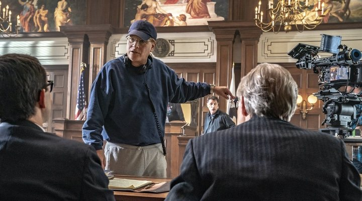 Aaron Sorkin en el rodaje de. 'El juicio de los 7 de Chicago'