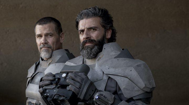 Oscar Isaac y Josh Brolin en </p><p>'Dune'