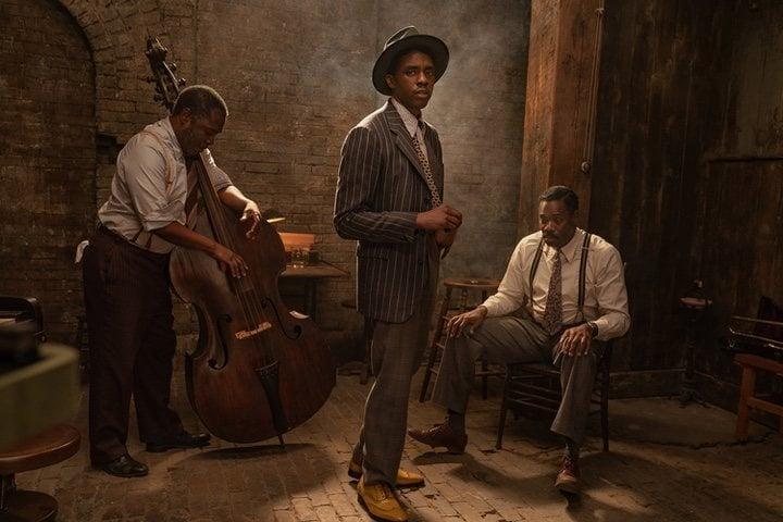 Chadwick Boseman en 'Ma Rainey's Black Bottom'