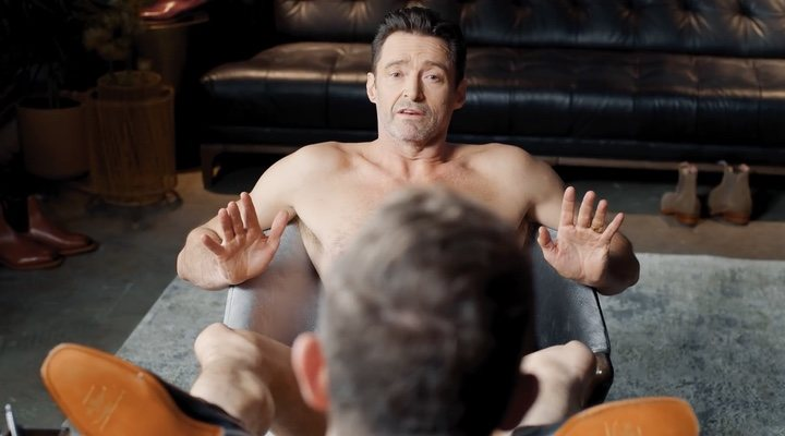 Hugh Jackman desnudo en el spot de R.M. Williams