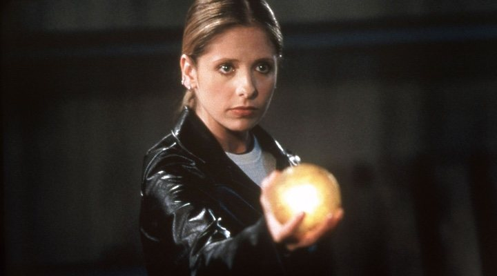 Sarah Michelle Gellar en 'Buffy, cazavampiros'