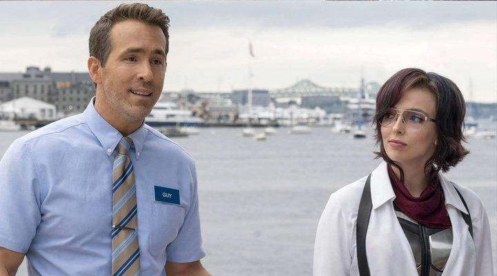 Ryan Reynolds y Jodie Comer en 'Free Guy'