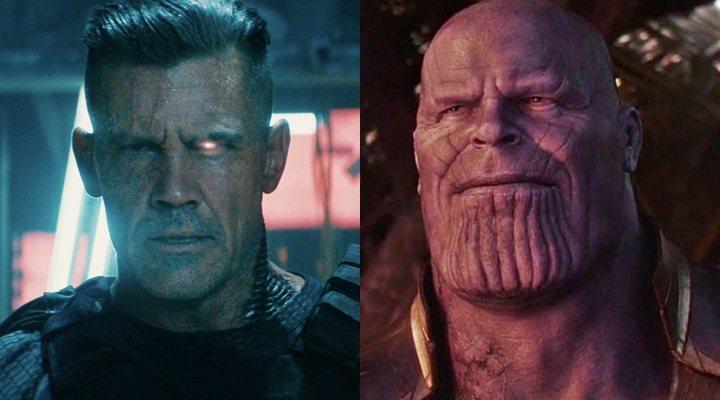 Josh Brolin como Cable y como Thanos
