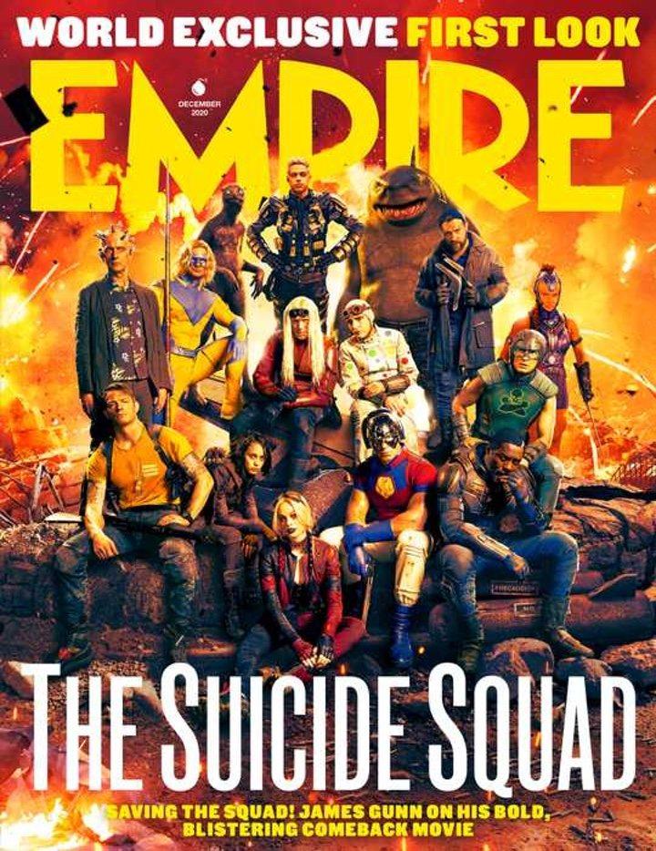 Portada de Empire de 'El escuadrón suicida'