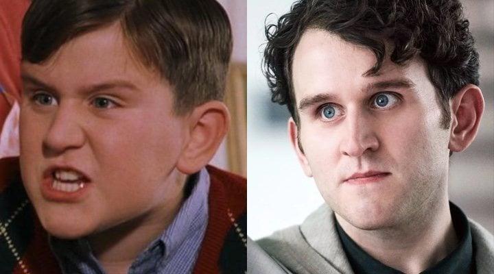 Harry Melling en 'Harry Potter' y 'La vieja guardia'