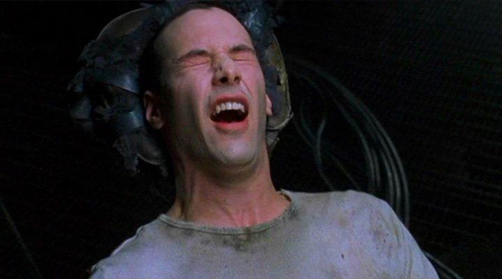 Keanu Reeves en 'Matrix'
