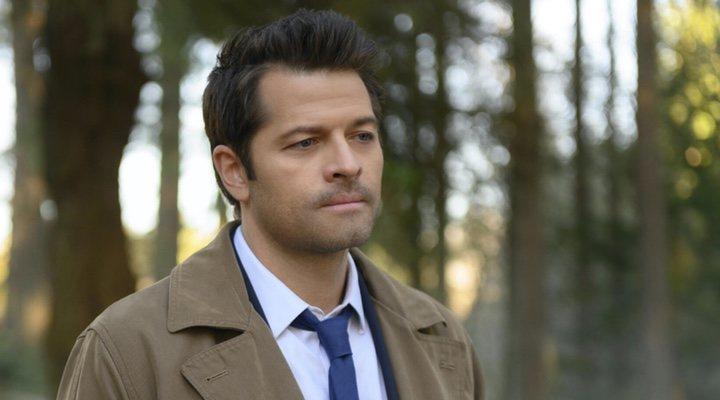 Misha Collins en 'Sobrenatural'