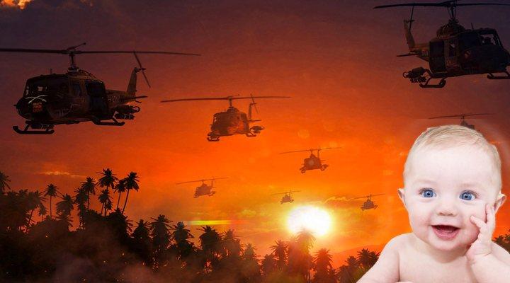 X Æ A-XII viendo contentísimo 'Apocalypse Now'