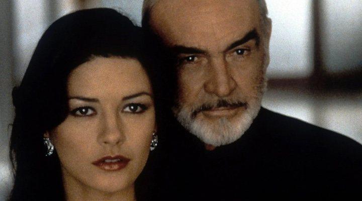 Catherine Zeta-Jones y Sean Connery en 'La trampa'