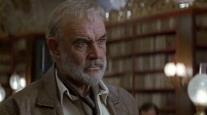 Sean Connery en 'La liga de los hombres extraordinarios', su última película