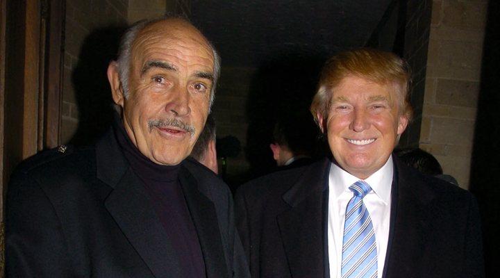 Sean Connery y Donald Trump