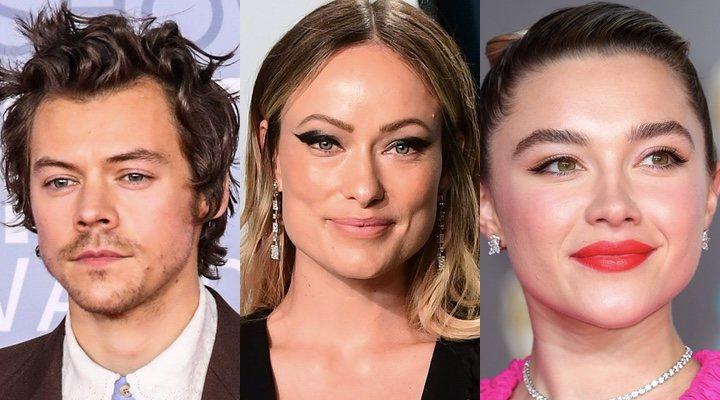 Harry Styles, Olivia Wilde y Florence Pugh