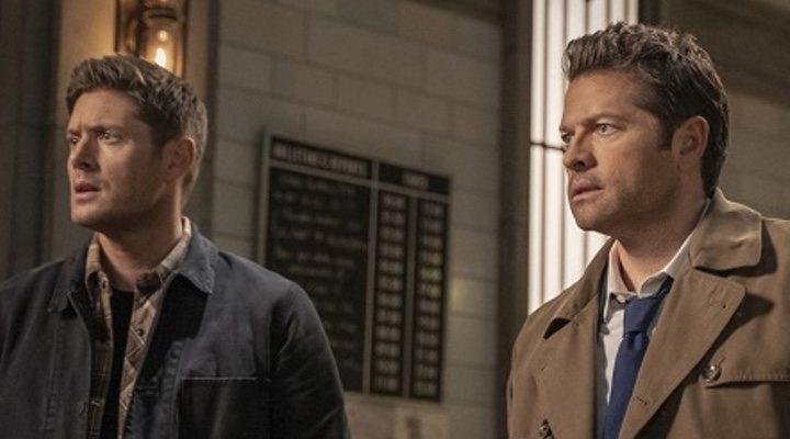 Dean y Castiel en 'Sobrenatural'