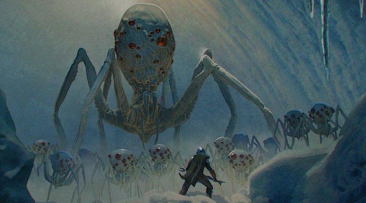 Arañas de 'The Mandalorian'