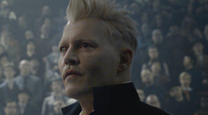 Johnny Depp en 'Animales Fantásticos: Los crímenes de Grindelwald'