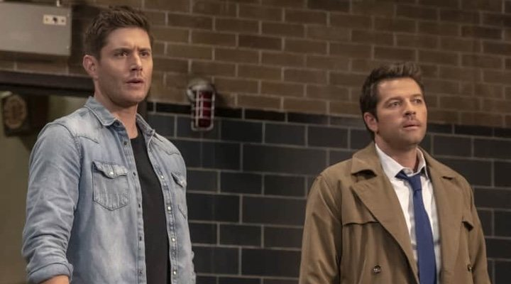 Jensen Ackles y Misha Collins en 'Sobrenatural'