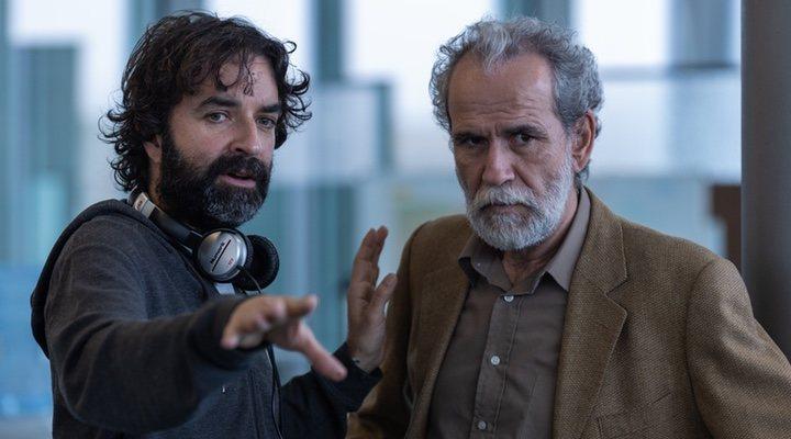 Mateo Gil y Luis Tosar en 'Los favoritos de Midas'