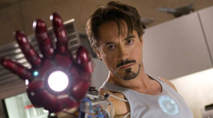 'Robert Downey Jr. como Iron Man'