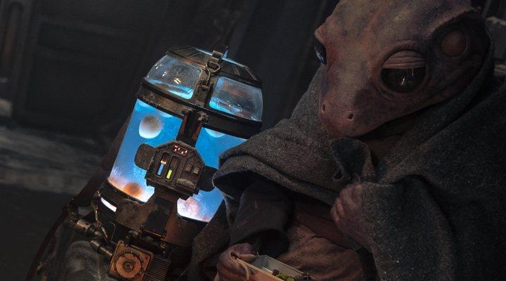 Baby Yoda y Lady Frog en 'The Mandalorian'
