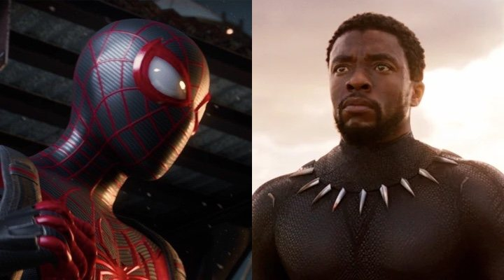 'Spider-Man: Miles Morales' y Chadwick Boseman