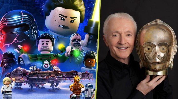 Anthony Daniles, voz de C-3PO en 'LEGO Star Wars: Especial felices fiestas'