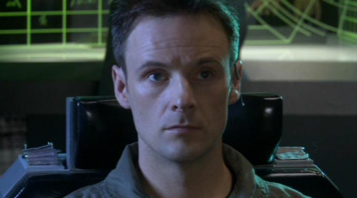 'Kirby Morrow en el papel de Dave Kleinman'
