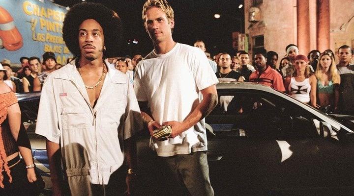 Ludacris y Paul Walker en 'Fast & Furious'