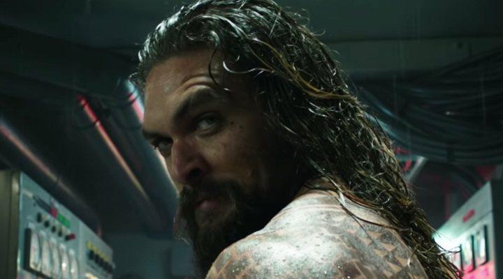 'Jason Momoa en Aquaman'