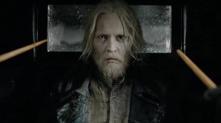 Johnny Depp en 'Animales Fantásticos'