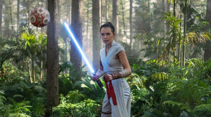 Daisy Ridley en 'Star Wars: El Ascenso de Skywalker'