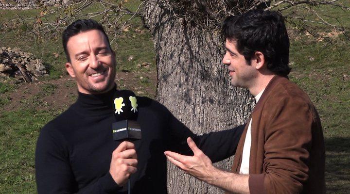 Pablo Puyol y Miguel Ángel Muñoz se reencuentran en el rodaje de 'Dos vacas y una burra'