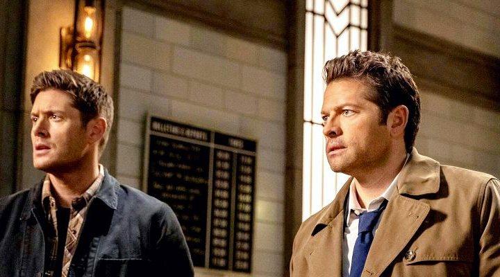 'Castiel y Dean en Sobrenatural