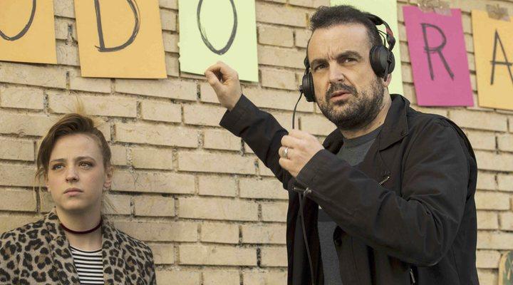 Nacho Vigalondo dirigiendo 'El vecino'